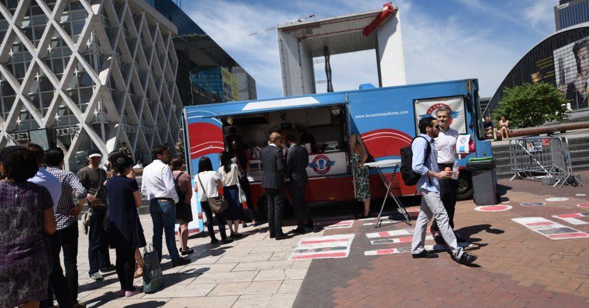 Votez pour vos food trucks préférés de La Défense