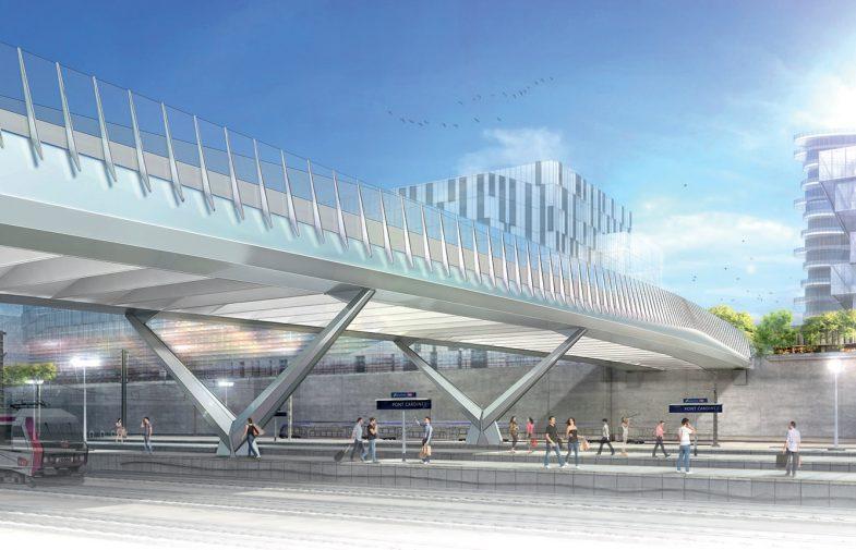 Aucune circulation des trains entre Saint-Lazare et La Défense durant quatre week-ends