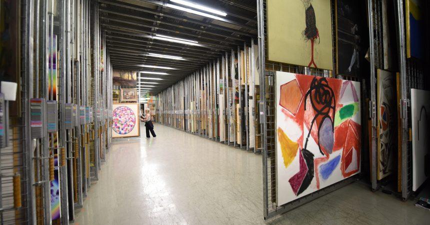 Le musée secret de La Défense va partir à Pantin