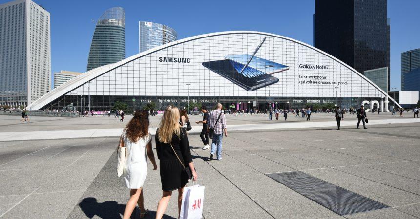 Samsung voit les choses en grand pour son nouveau Galaxy Note 7