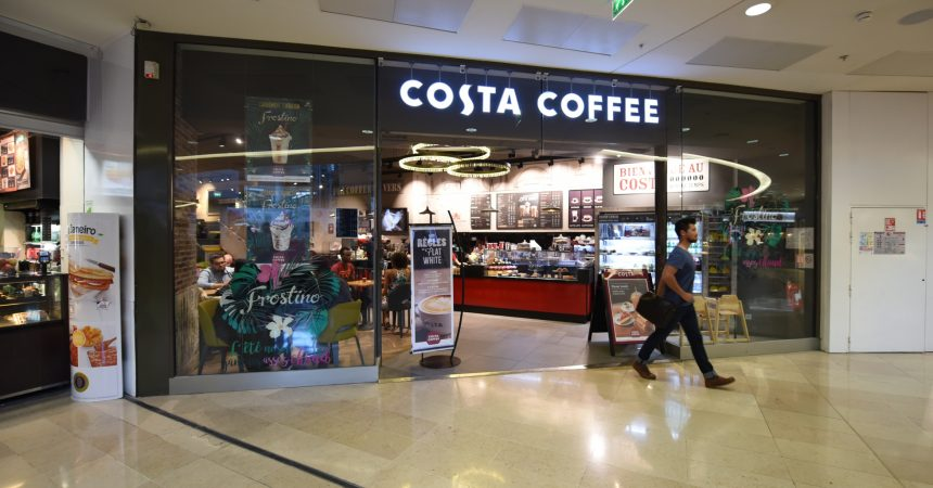 Costa Coffee ferme son salon des 4 Temps