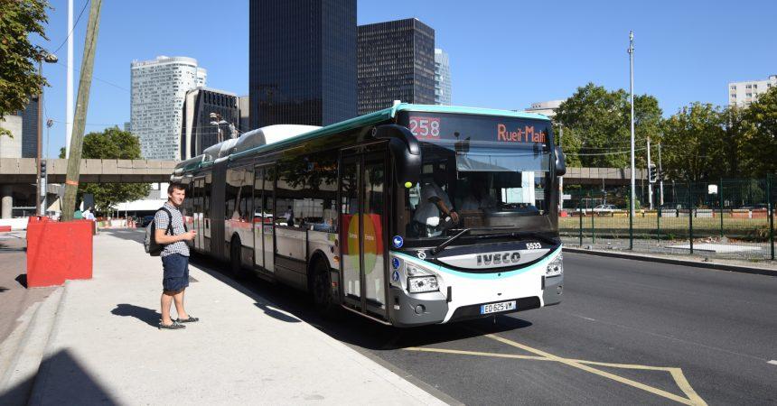 La ligne 258 accroît la capacité de ses bus mais réduit sa longueur