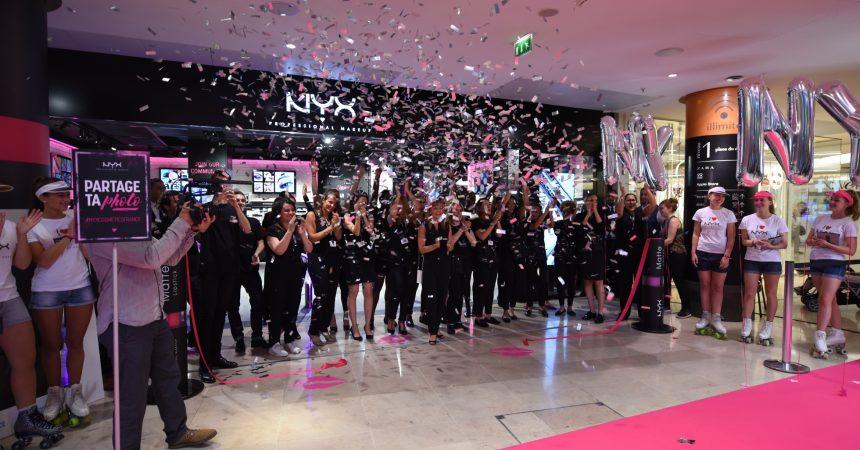 L'ouverture de Nyx aux 4 Temps attire des centaines de jeunes femmes