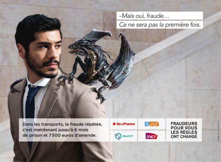 La campagne contre la fraude dans les transports en commun en Ile-de-France - DR