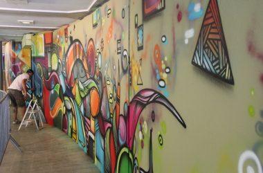 Une nouvelle fresque en mode street-art pour l'ASD