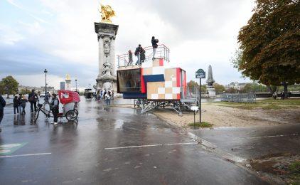 Le Pavillon des points de vue termine son voyage à la FIAC de Paris