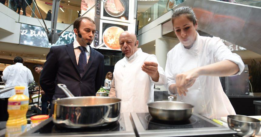 Une battle culinaire spécial Noël avec Thierry Marx aux 4 Temps