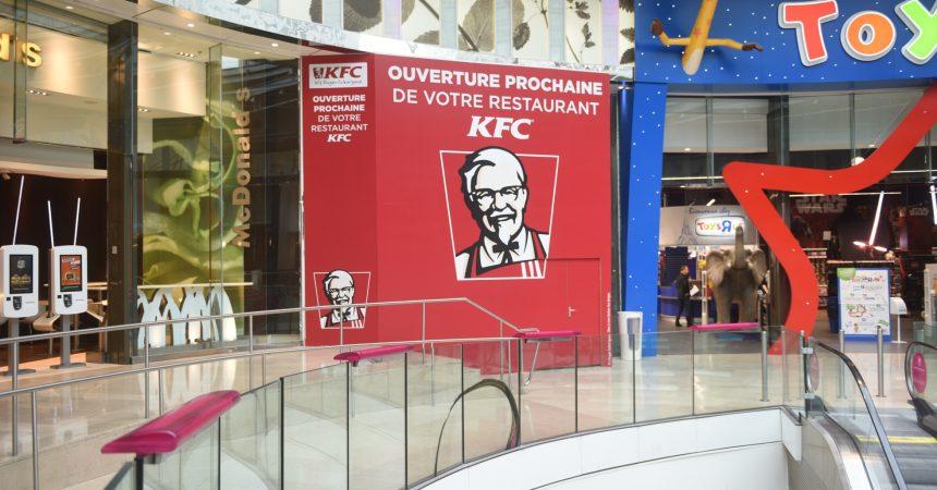 KFC officialise son arrivée aux 4 Temps