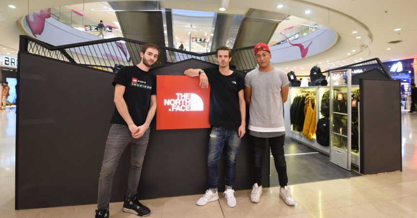The North Face lance un pop-up store aux 4 Temps
