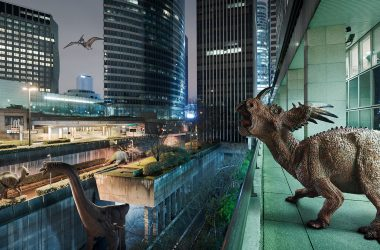 The Wildlife : un quartier de La Défense envahi par les dinosaures