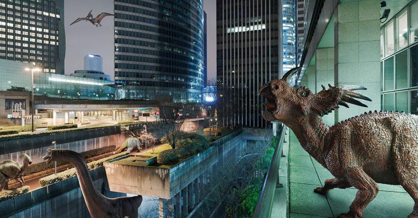 The Wildlife : un quartier de La Défense envahi par les dinosaures