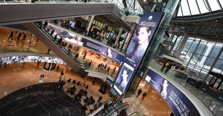 Huawei présente son «P9» sur le Digital Dream des 4 Temps