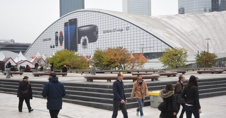 L'univers Gear de Samsung s'affiche sur le Cnit