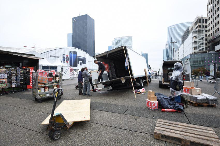 Le camion a été dégagé à 14h40- Defense-92.fr