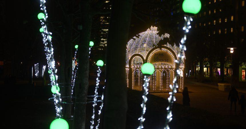 La Défense revêt ses habits de lumières pour Noël