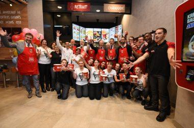KFC inaugure en grande pompe son 200ème établissement français aux 4 Temps