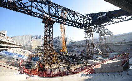 En janvier vous allez pouvoir visiter le chantier la U Arena