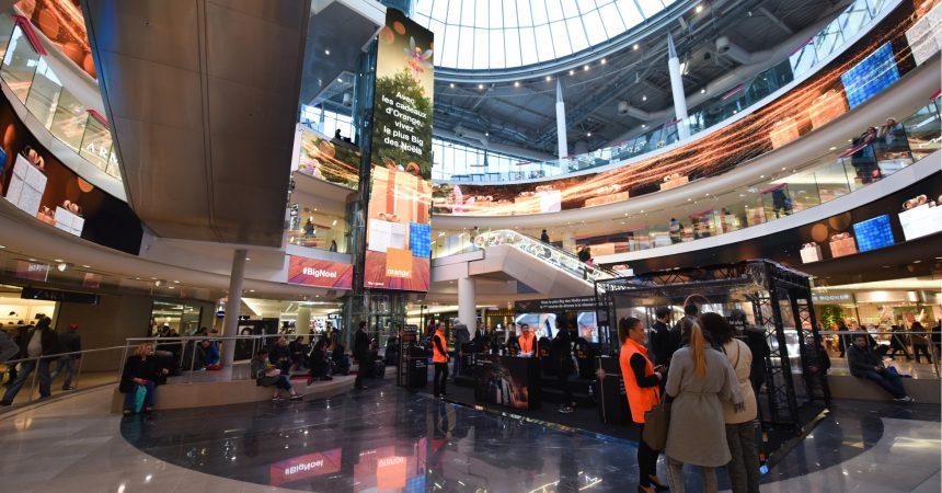 Orange s'empare du Digital Dream des 4 Temps pour Noël
