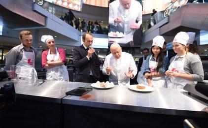 Les 4 Temps : le chef Marx en arbitre d'une battle culinaire