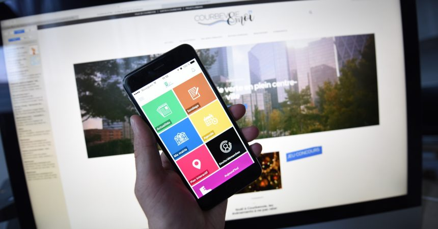 La ville de Courbevoie lance un blog lifestyle et une application mobile