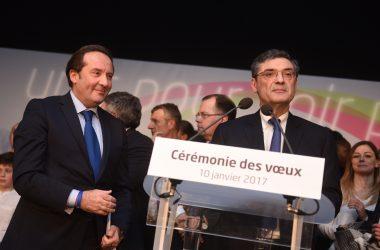 Devedjian et Bédier font vœux communs pour les Hauts-de-Seine et les Yvelines