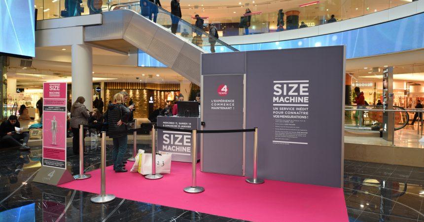 Les 4 Temps dégaine la «Size Machine» pour les soldes d'hiver