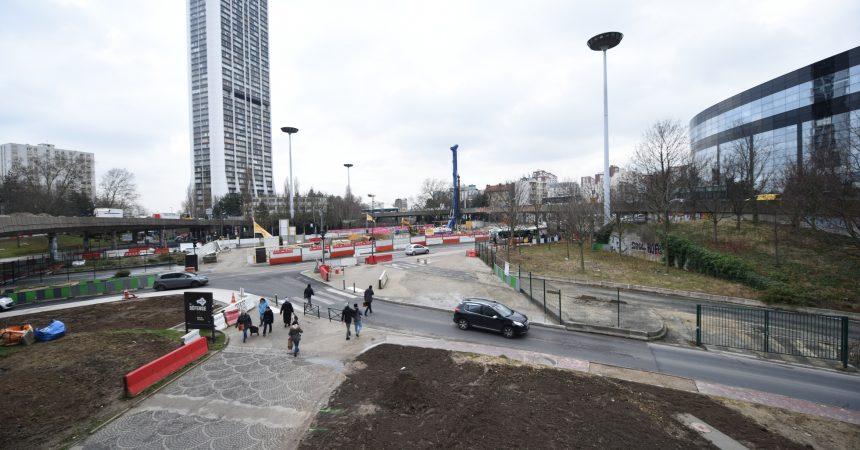 Chantier de la Rose de Cherbourg : de nouveaux cheminements pour les piétons