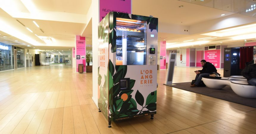 L'Orangerie de Paris installe une nouvelle machine au Cnit