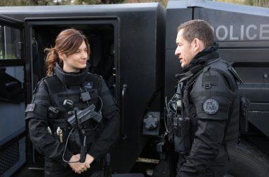 Dany Boon et Alice Pol à l'UGC des 4 Temps pour l'avant-première de Raid Dingue
