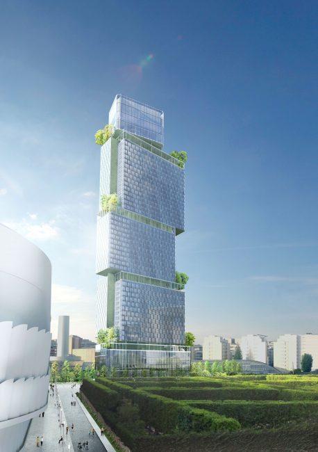 La tour des Jardins de l'Arche sera construite d'ici 2022 - ADIM (Sogeprom a/2/3/ TourJDA3)