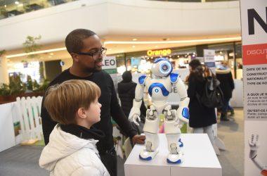 Les robots intelligents s'invitent aux 4 Temps pour les vacances de février