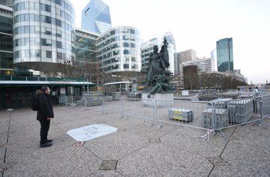 La Statue de La Défense a droit à un nouveau socle