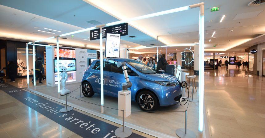 La nouvelle Renault Zoé est à découvrir aux 4 Temps