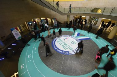 Avec la RATP venez soutenir la candidature de Paris 2024 en gare de La Défense