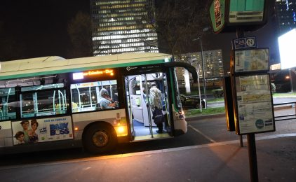 Une nouvelle ligne de bus de nuit partira bientôt de La Défense