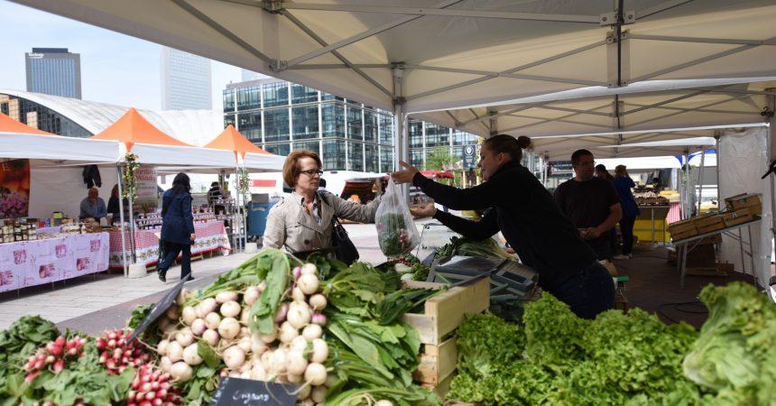 Le marché alimentaire de La Défense sera de retour dès la mi-avril