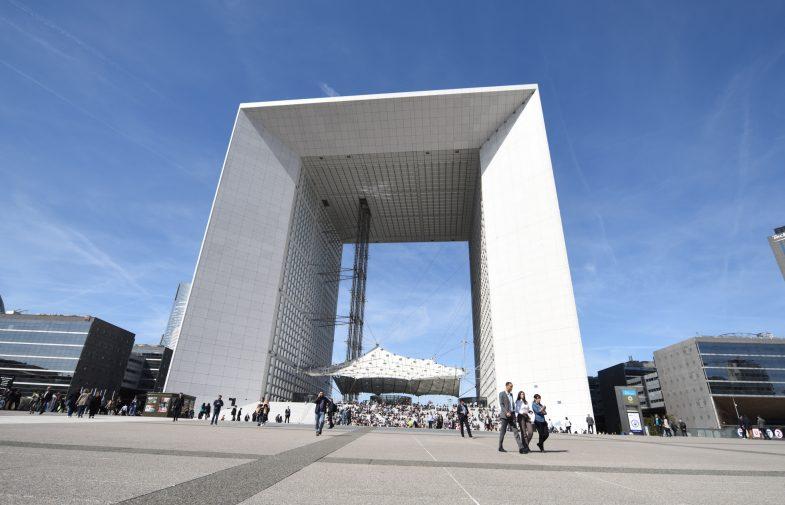 La réouverture du Toit de la Grande Arche c'est pour juin