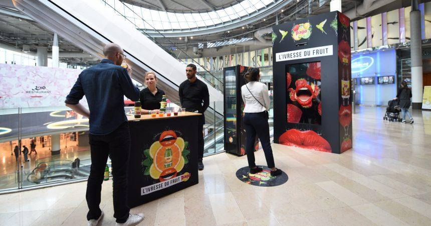 """Aux 4 Temps Pago invite les clients du centre à vivre """"l'ivresse du fruit"""""""