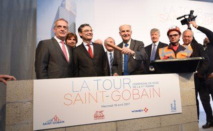 Dans deux ans la tour Saint-Gobain deviendra la vitrine du savoir-faire du groupe