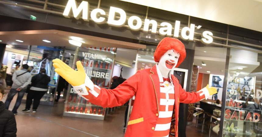 Ronald, le clown de Mc Do ce mercredi à La Défense