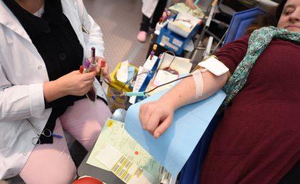 Au Hilton de La Défense on peut aussi  donner son sang