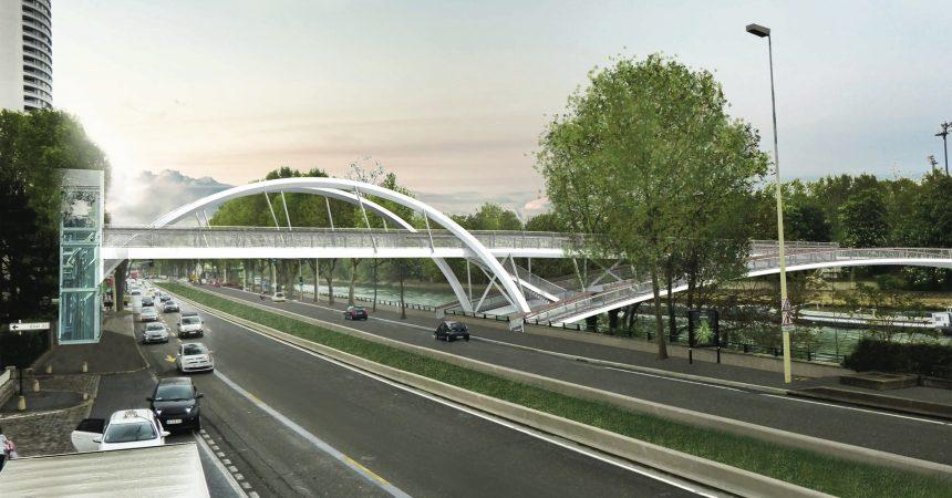 Première étape administrative pour le projet de construction de la passerelle de Puteaux