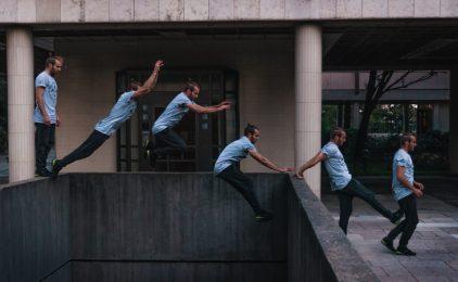 Le collectif Hit the Road propose à ses fans un parkour day à La Défense