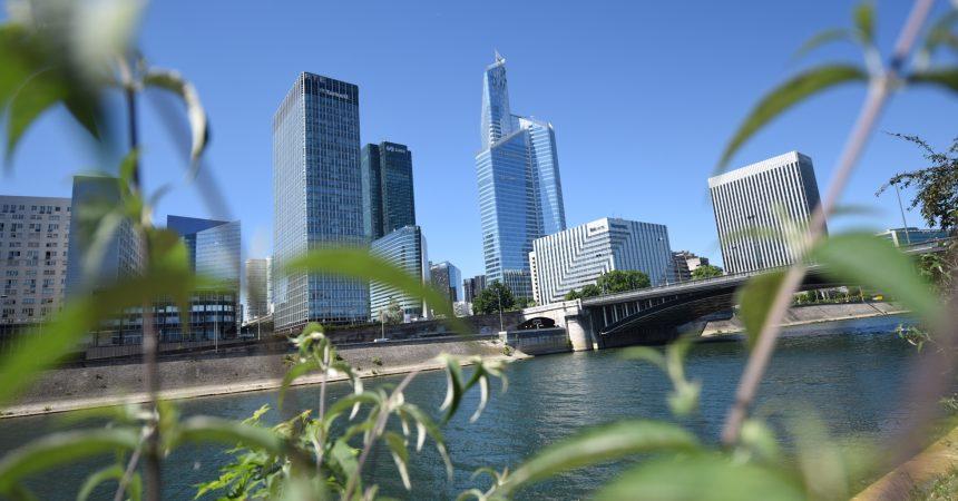 A La Défense les tours sont moins énergivores, se félicite l'Epadesa