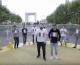 Le youtubeur Daniil le Russe célèbre la défaite de Marine Le Pen sur l'esplanade de La Défense