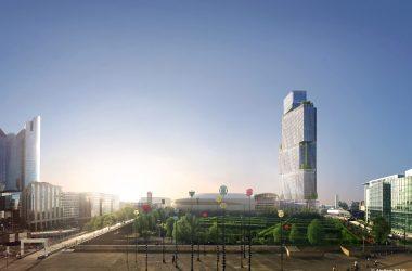 L'Epadesa signe avec Vinci la promesse de vente pour la tour des Jardins de l'Arche