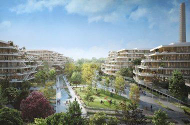 A Nanterre Woodeum et BNP Pariabas Real Estate peaufinent leur méga-campus en bois