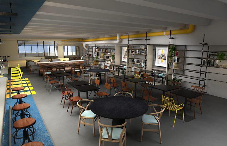 A La Défense on transforme un niveau de parking en un lieu de vie