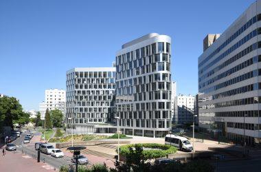 La rénovation de l'immeuble Ampère e+ saluée aux Green Solutions Awards