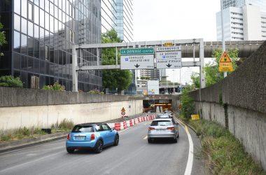 Le tunnel routier de la liaison basse fermé pour le week-end
